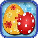Matching Game-Easter Eggs Kids icon