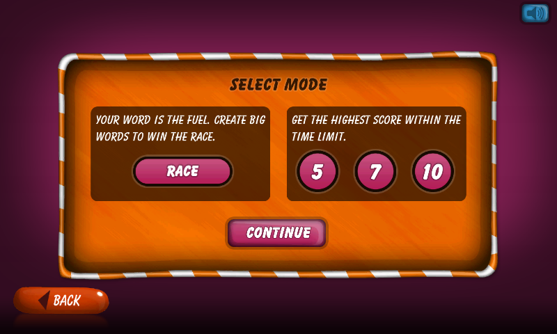 Race With Words- screenshot