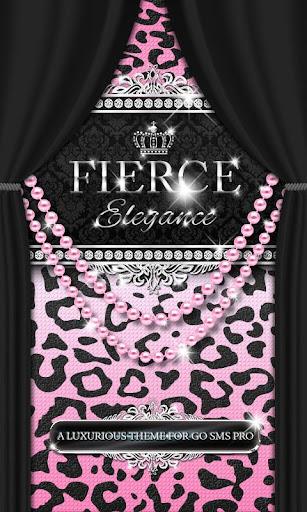 Luxury Theme Pink Leopard SMS★