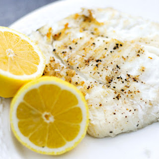 Simple Grilled Halibut.