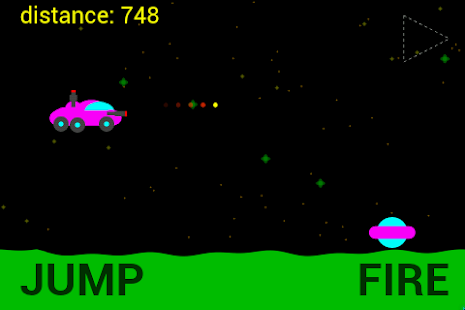 Moon Racer - 2D Retro Shooter - screenshot thumbnail