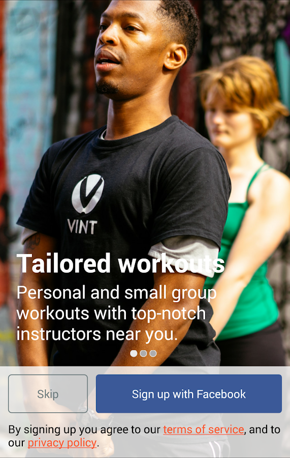 Vint - On-Demand Trainers - screenshot
