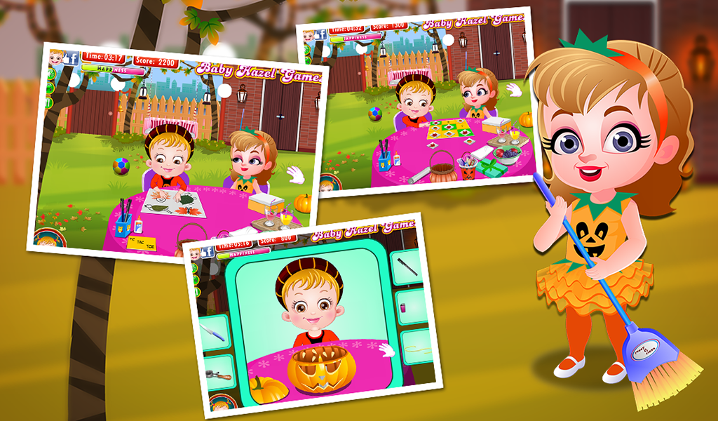 Baby Hazel Pumpkin Party- screenshot