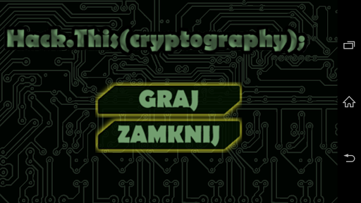 Hack.This Cryptography Game