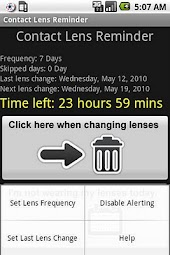 Contact Lenses Reminder