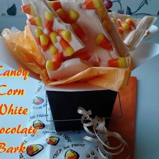 Candy Corn White Chocolate Bark