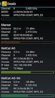 Screenshot of WiFi Scanner / Analyzer
