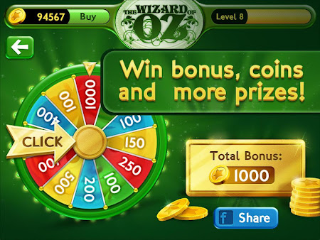 Slots Wizard of Oz 1.0.9 screenshot 38142