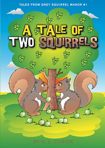 Tales From Grey Squirrel Manor #1 cover