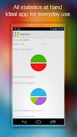 Screenshot of Habitizer. Habit Organizer