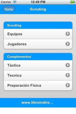 Scouting- screenshot