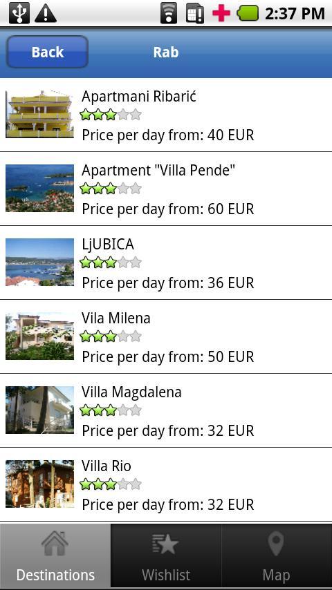 Apartments Croatia- screenshot