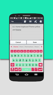 How to install AquaPink Keyboard LG THEME 2 0 13 unlimited