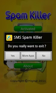 SMS Spam Killer - screenshot thumbnail