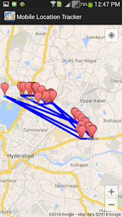 Mobile GPS Location Tracker- screenshot thumbnail