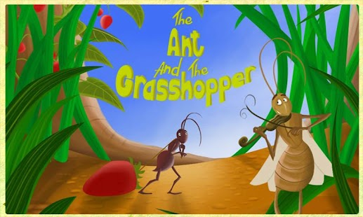 Ant and Grasshopper Storybook- screenshot thumbnail