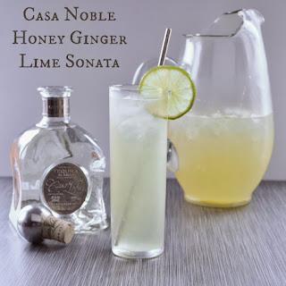 Casa Noble Honey Ginger Lime Sonata.