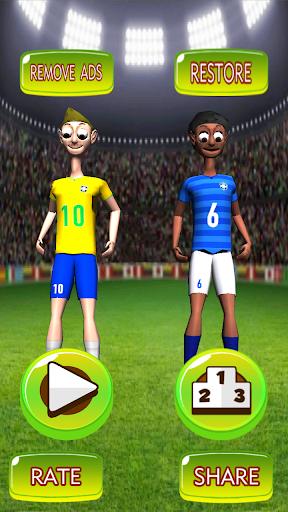 Brazil Football Juggler