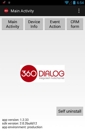360 Dialog Customer Demo