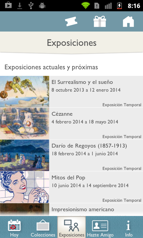 Museo Thyssen - screenshot