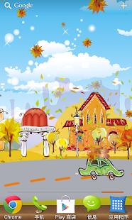 玩免費個人化APP|下載金秋小鎮免費動態桌布 app不用錢|硬是要APP