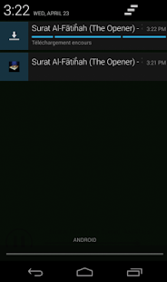 Quran Audio reciters- screenshot thumbnail