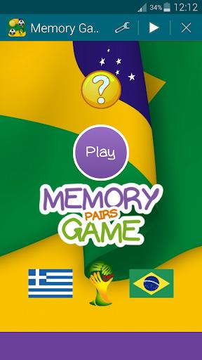 Brazil 2014 Memory Game