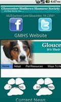 Screenshot of Gloucester Mathews Humane