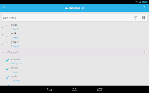 Shopping List screenshot 13