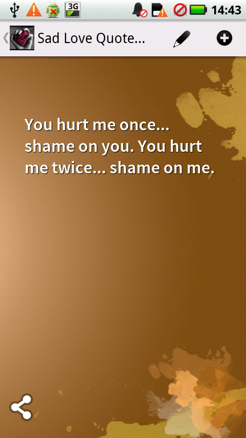 sad love quotes android apps on google play