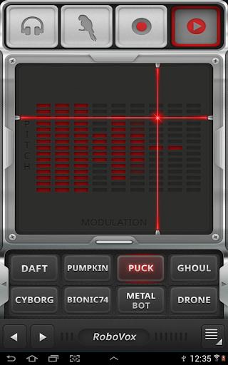 RoboVox Voice Changer 1.8.4 screenshots 3