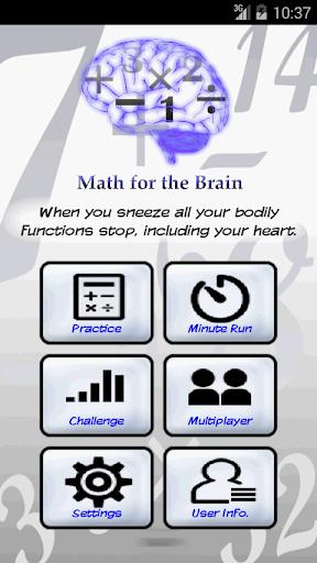 Math For the Brain