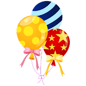 Lady Balloons Live Wallpaper