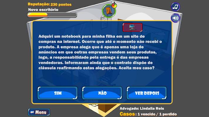 Meus Direitos - screenshot