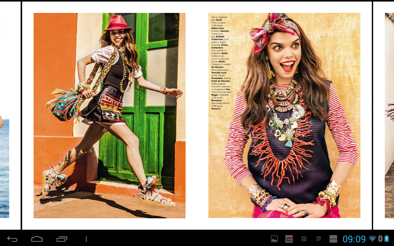 Glamour Italia - screenshot
