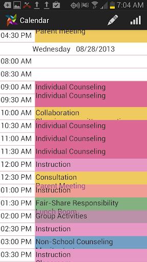 Counselor's Calendar 2013-14