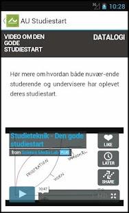 AU Studiestart- screenshot thumbnail