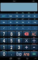 Screenshot of Scientific Calculator Pro