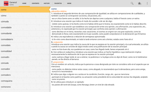 Vox General Spanish LanguageTR - screenshot thumbnail