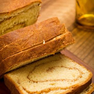Spiced Cinnamon Swirl Bread.