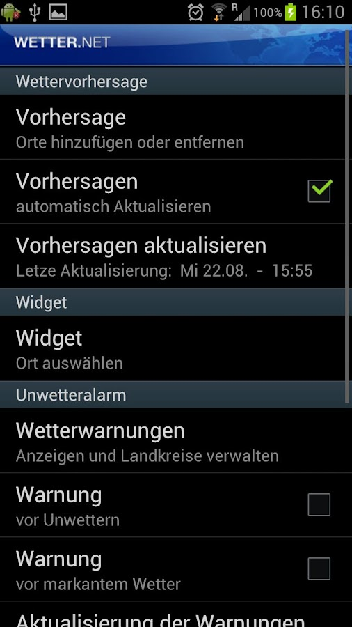 wetter.net - screenshot