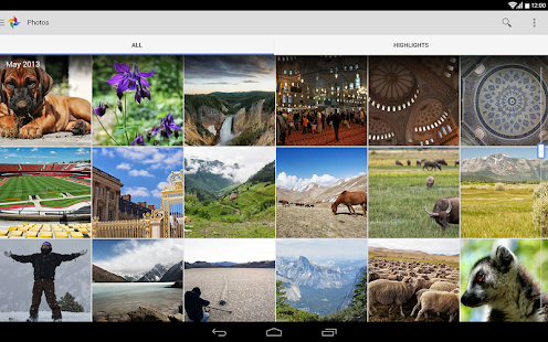 Google+ - screenshot thumbnail