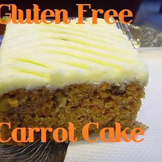 Gluten Free Moistest Carrot Cake