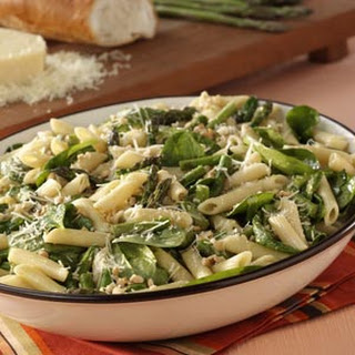 Asparagus-Spinach Pasta Salad.