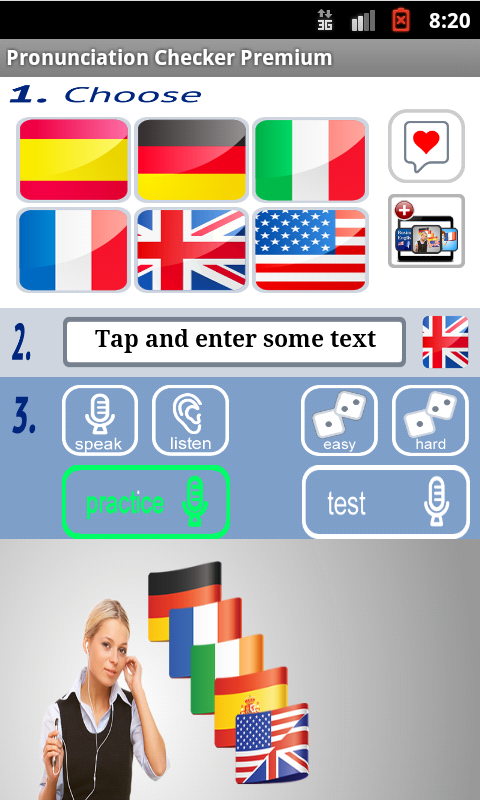 Pronunciation Checker Free- screenshot