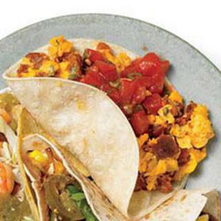 Chorizo Brunch Special Tacos.