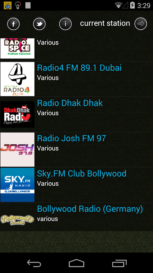 Hindi Radio- screenshot
