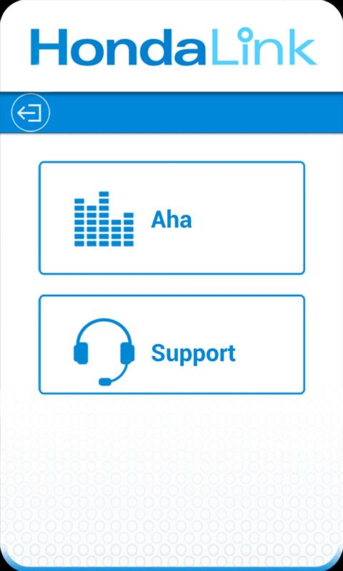 HondaLink Aha- screenshot