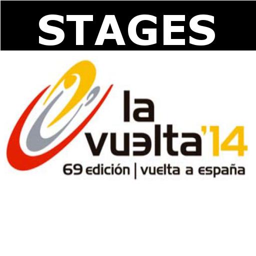 Vuelta de Espania 14 - Stages LOGO-APP點子