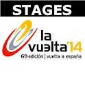 Vuelta de Espania 14 - Stages icon